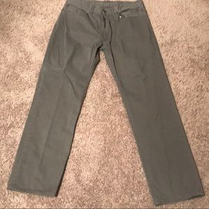 Hardly worn POLO RALPH LAUREN slim gray chinos!